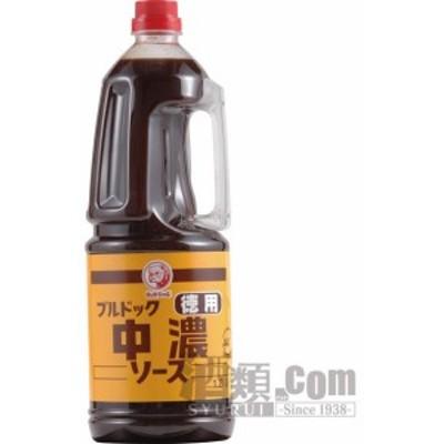 【酒 ドリンク 】ブルドック 徳用中濃ソース ハンディパック1800ml(6本入り)(1448)