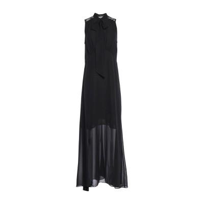 ゲス GUESS ロングワンピース&ドレス ブラック M ポリエステル 100% / ナイロン ロングワンピース&ドレス