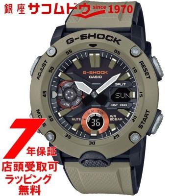 カシオ CASIO 腕時計 G-SHOCK ウォッチ ジーショック カーボンコアガード構造 GA-2000-5AJF メンズ