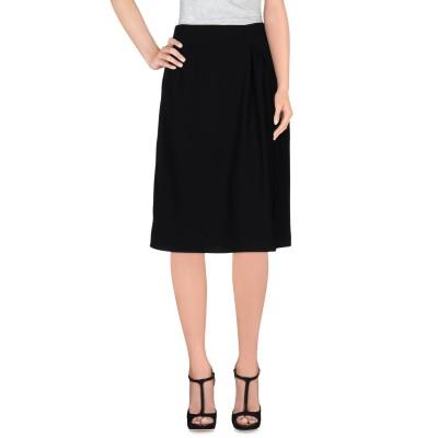 タラ ジャーモン TARA JARMON 7分丈スカート ブラック 36 ポリエステル 100% 7分丈スカート
