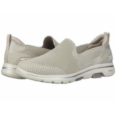 SKECHERS Performance スケッチャーズ レディース 女性用 シューズ 靴 スニーカー 運動靴 Go Walk 5 Prized Taupe【送料無料】