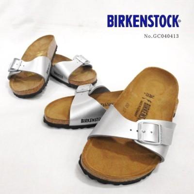 BIRKENSTOCK SILVER MADRID/マドリッド ビルケンシュトック ネコポス不可 GC040413
