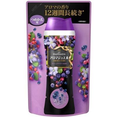 レノア ハピネス 香り付け専用剤 アロマジュエル サファイアベリーの香り 詰替用 455ml x 4個セット