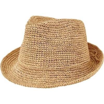 サンディエゴハット レディース 帽子 アクセサリー Crochet Raffia Fedora RHF6120