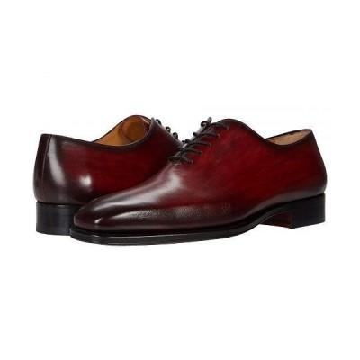 Magnanni マグナーニ メンズ 男性用 シューズ 靴 オックスフォード 紳士靴 通勤靴 Crucero - Red