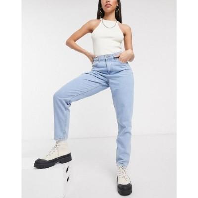 ノイズィーメイ Noisy May レディース ジーンズ・デニム ボトムス・パンツ mom jeans in light wash