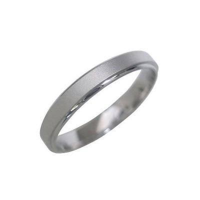 つや消し 結婚指輪 マリッジリング ペアリング プラチナ メリッサ【今だけ代引手数料無料】