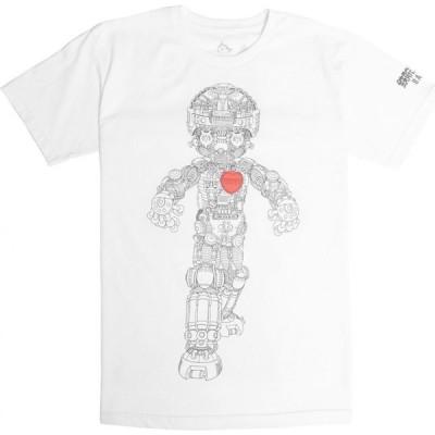 BAIT メンズ Tシャツ トップス x Astro Boy Mechanical Tee white