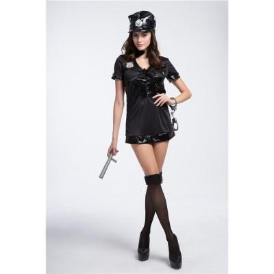 WL406   コスプレ ポリス コスプレ衣装 セクシー 制服 ハロウィン コスチューム 衣装 仮装 ミニスカポリス 警察 衣装 警官