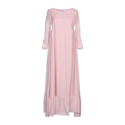 カオス KAOS ロングワンピース&ドレス ピンク 40 レーヨン 80% / ナイロン 20% ロングワンピース&ドレス