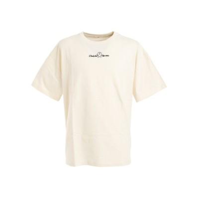 パワートゥーザピープル(Power To The People) ビッグシルエット 半袖Tシャツ チャーリーブラウン 0530109-06 OFF (メンズ)