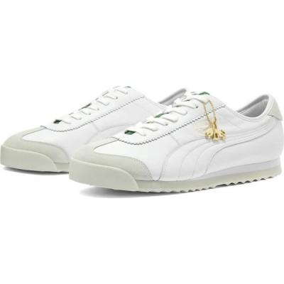 プーマ Puma メンズ スニーカー シューズ・靴 Roma 68 Dassler Legacy White/Green/Grey
