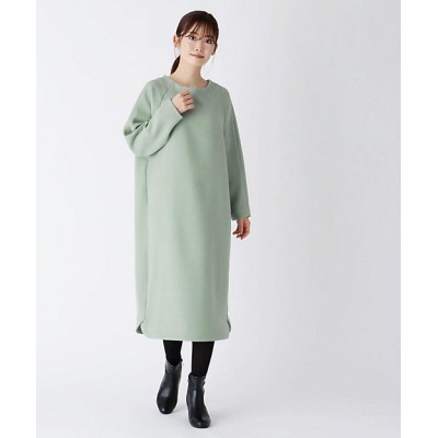 <SOUP(Women)/スープ> ラグランスリーブワンピース グリーン【三越伊勢丹/公式】