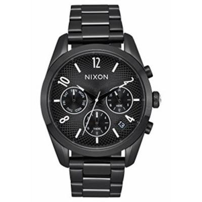 Nixon Women &aposs &apos Bullet Chrono 36?&apos QuartzステンレススチールCasual Watch , Color : Black ( Model : a949756???00?)
