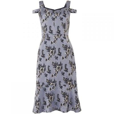 フェイズ エイト Phase Eight レディース ワンピース ドロップショルダー ワンピース・ドレス Persephone Dropped Shoulder Dress Cornflower