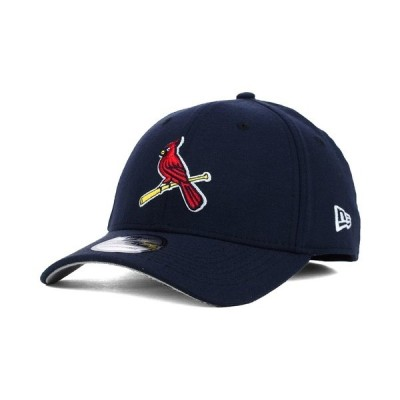 ニューエラ 帽子 アクセサリー メンズ St. Louis Cardinals Core Classic 39THIRTY Cap Navy