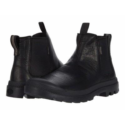 パラディウム ブーツ&レインブーツ シューズ メンズ Pampa Chelsea Black/Black