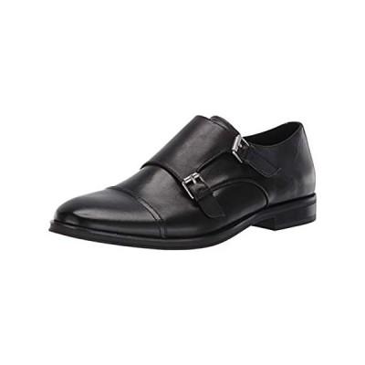 Calvin Klein Men's WINTHROPE Monk-Strap Loafer, Crust Leather, 8.5 Medium U