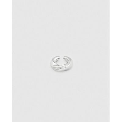 <TOM WOOD(Women)/トムウッド> イヤーカフ Infinity Ear Cuff Rock Crystal silver【三越伊勢丹/公式】