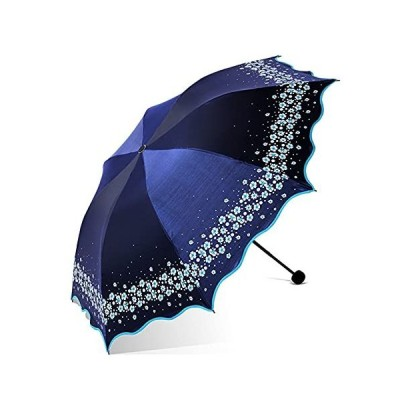 Jczw. ブラックプラスチック抗紫外線傘3倍傘 (Color : B)