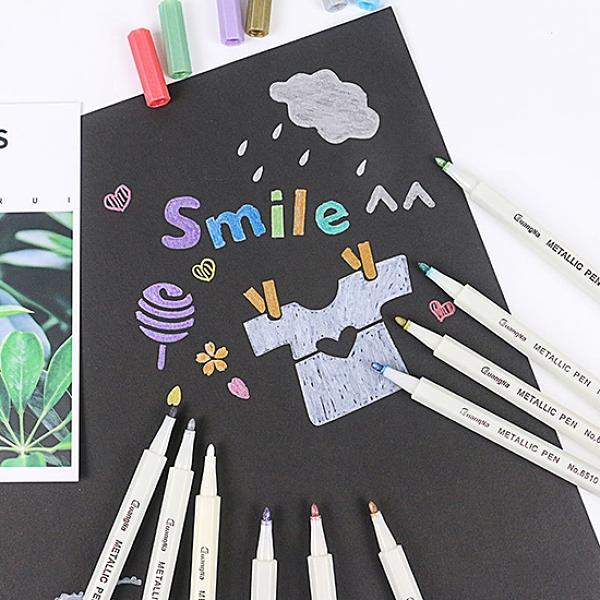 油漆筆 金屬筆 簽字筆 奇異筆 馬克筆 工藝筆 玻璃筆 水性 金屬彩色筆(1支)【Q200】生活家精品
