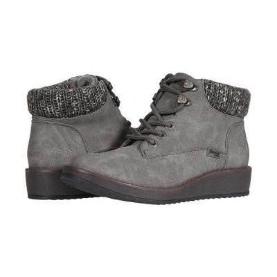 Blowfish ブローフィッシュ レディース 女性用 シューズ 靴 ブーツ レースアップ 編み上げ Comet - Grey Prospector/Grey Flyer Knit