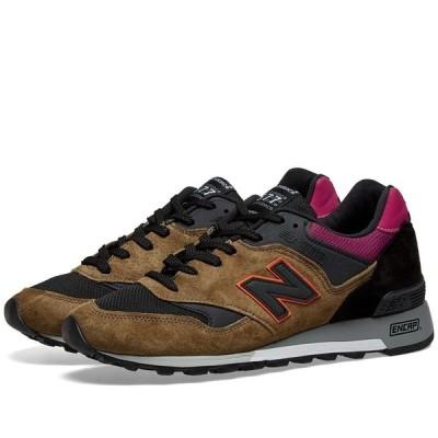 ニューバランス New Balance メンズ スニーカー シューズ・靴 m577kpo - made in england Black/Orange/Purple