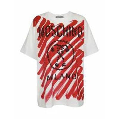 Moschino レディースその他 Moschino Printed T-shirt Bianco/rosso