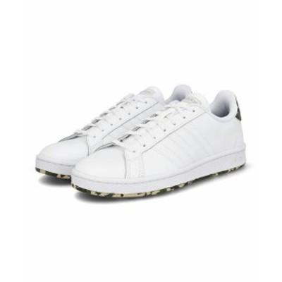 adidas アディダス GRANDCOURT M メンズスニーカー(グランドコートM) FY8557 フットウェアホワイト/フットウェアホワイト/メタルグレー