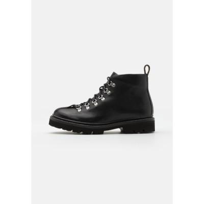 グレンソン ブーツ&レインブーツ メンズ シューズ BOBBY - Lace-up ankle boots - black