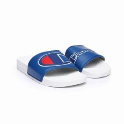 チャンピオン サンダル・ミュール ipo mm dual logos slides Blue,White