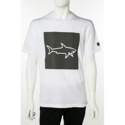 ポールアンドシャーク PAUL&SHARK Tシャツ カットソー ホワイト メンズ (E19P1127) 送料無料 2019年春夏新作 2019SS_SALE