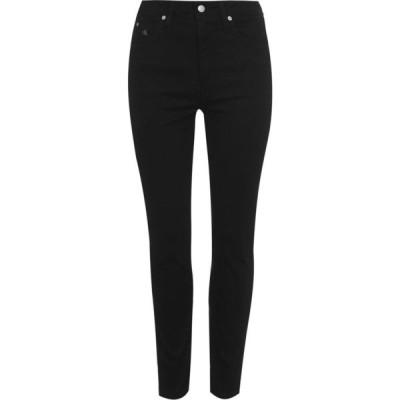 カルバンクライン Calvin Klein Jeans レディース ジーンズ・デニム スキニー ボトムス・パンツ 010 High Rise Skinny Jeans ZZ BLACK