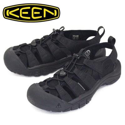 KEEN (キーン) 1022258 Men's NEWPORT H2 ニューポート エイチツー サンダル TRIPLE BLACK KN436