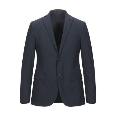 DOMENICO TAGLIENTE テーラードジャケット ダークブルー 46 ポリエステル 65% / レーヨン 35% テーラードジャケット