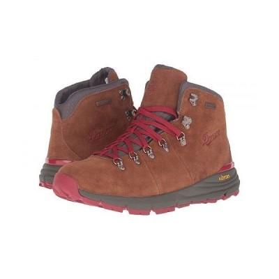 "Danner ダナー メンズ 男性用 シューズ 靴 ブーツ ハイキングブーツ Mountain 600 4.5"" - Brown/Red"