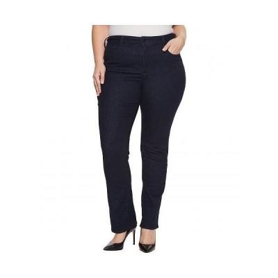 NYDJ Plus Size エヌワイディージェー レディース 女性用 ファッション ジーンズ デニム Plus Size Marilyn Straight Jeans in Rinse - Rinse