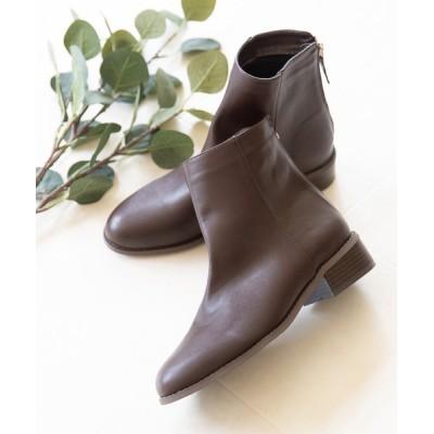 welleg from outletshoes / バックジップ カジュアルブーツ WOMEN シューズ > ブーツ