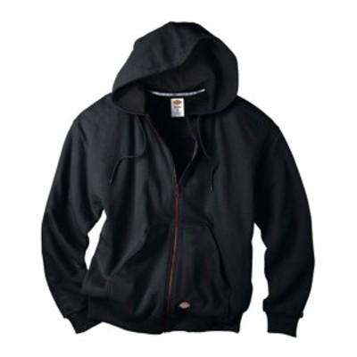 ディッキーズ メンズ ジャケット&ブルゾン アウター Thermal Lined Fleece Jacket Black