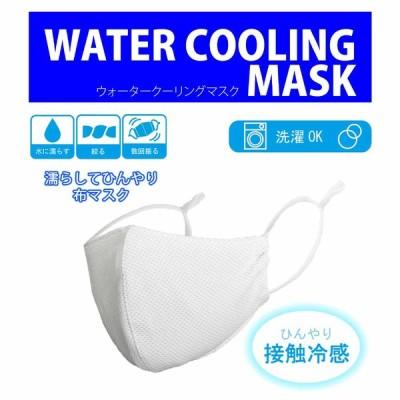 水に濡らして振るだけ 接触冷感 立体マスク 洗えるマスク 濡らす 繰り返し使える 布マスク 夏マスク 3Dフィット 吸水 速乾