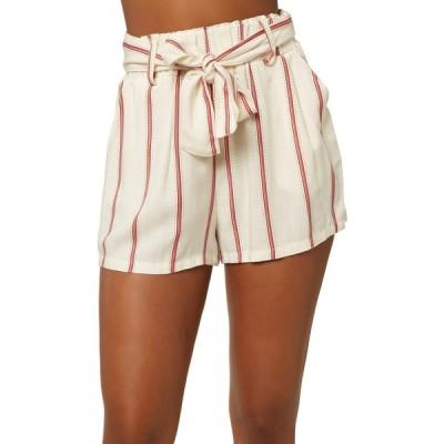 オニール O'Neill レディース ショートパンツ ボトムス・パンツ Cameron Stripe Shorts Winter White