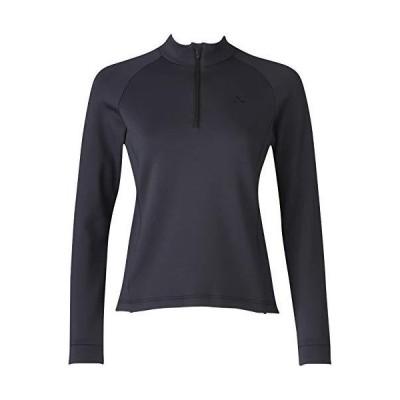 シーダブリューエックス CW-X スポーツアウター Tシャツ (ハーフジップ・長袖) 保温 UVカット DWY329 レディース BL 日本