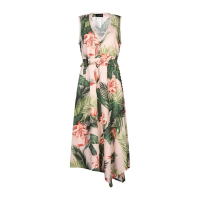 SPORTMAX CODE 7分丈ワンピース・ドレス ライトピンク 38 コットン 100% 7分丈ワンピース・ドレス
