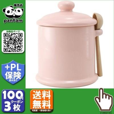 送料無料|ZERO JAPAN キャニスターM 木製スプーン付 CP-05M PI・ピンク|b03