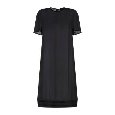 ディースクエアード DSQUARED2 ミニワンピース&ドレス ブラック 38 シルク 100% ミニワンピース&ドレス