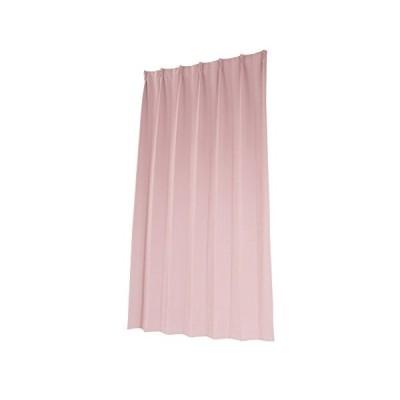 ユニベール 1級遮光・防炎ドレープカーテン ショコラ ローズ 幅100cm×丈135cm 2枚組