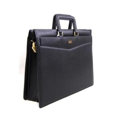 豊岡市製国産 合皮ブリーフバッグ ブラック ビジネスバッグ5619-01     送料込み