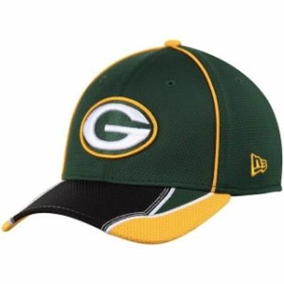 New Era ニュー エラ スポーツ用品  New Era Green Bay Packers Green Pipe Force 39THIRTY Flex Hat