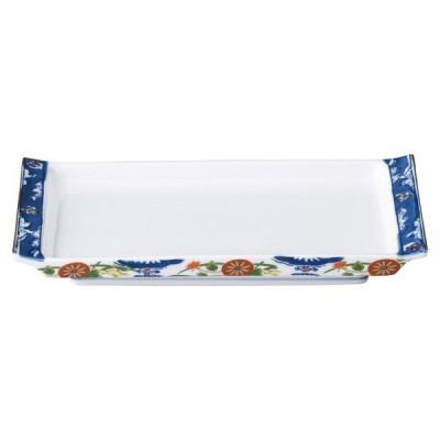 業務用食器 錦古伊万里 焼物皿 23.5×12.8×3�