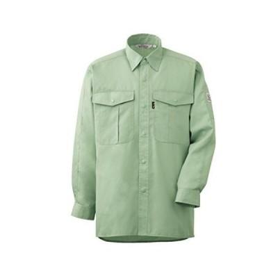 ミドリ安全 ハーフラグラン袖 メンズ 長袖シャツ RCS2186 グリーン 4L